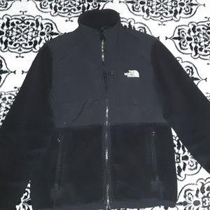 The North Face Black Denali Zip Up Jacket